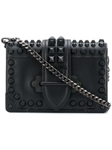 PRADA STUDDED CAHIER BAG