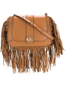 MICHAEL KORS MK FRINGED CROSS BODY BAG