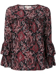 MICHAEL KORS MK PRINTED TOP