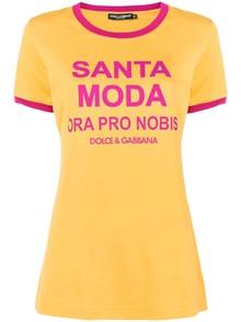 DOLCE & GABBANA SANTA MODA T-SHIRT