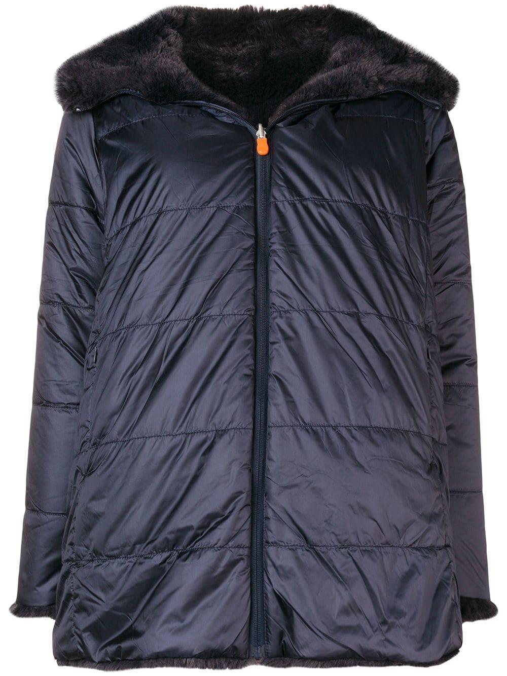 on sale 969fe 1e6ca FUR COLLAR PADDED COAT