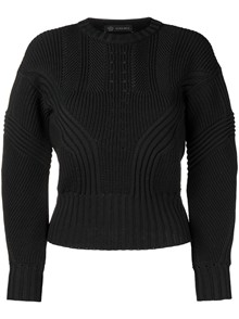 VERSACE RIB SWEATER