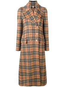 BURBERRY LONDON ENGLAND CHECK MOTIF COAT