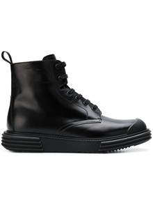 PRADA ZIPPED BOOTS