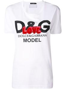 DOLCE & GABBANA LOVE LOGO T-SHIRT