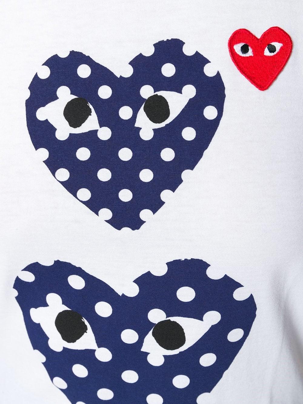 dd6052e0e65149 comme des garçons HEART LOGO T-SHIRT available on montiboutique.com ...