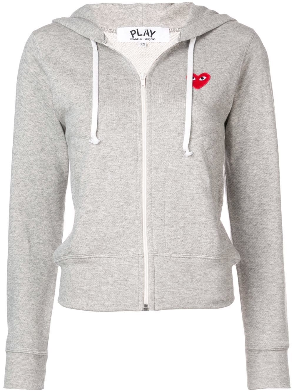 Comme Des Garçons Heart Logo Hoodie Sweater Available On