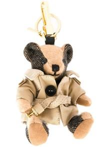 BURBERRY LONDON ENGLAND TEDDY BEAR KEY HOLDER