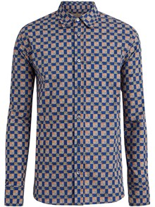 BURBERRY LONDON ENGLAND PRINTED SHIRT