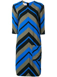 MARNI STRIPED DRESS