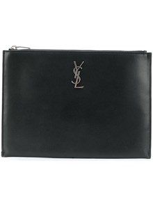 SAINT LAURENT CLUTCH LOGO