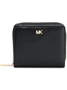 MICHAEL KORS MK LOGO ZIPPED WALLET