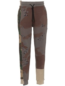OFF-WHITE MILITARY PRINT TROUSER