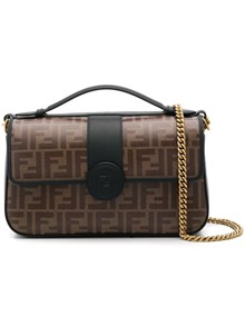 FENDI LOGO SHOULDER BAG