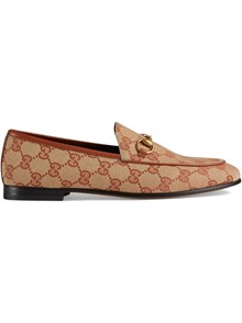 GUCCI GG PRINT LOAFERS