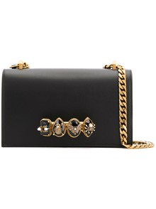 ALEXANDER MCQUEEN  4 RINGS CLUTCH BAG