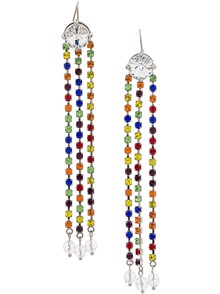 MIUMIU MULTICOLOR EARRINGS