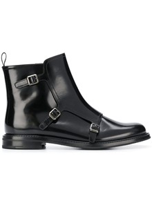 CHURCH'S ANKLE BOOTS WITH BUCKLE