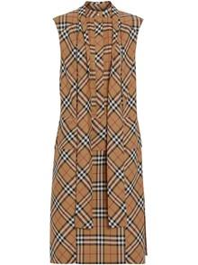 BURBERRY LONDON ENGLAND CHECK MOTIF DRESS