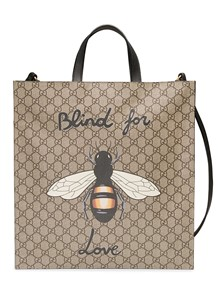 GUCCI BLIND FOR LOVE BEE TOTE