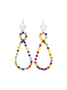 MIU MIU MULTICOLOR EARRINGS