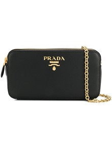 PRADA MINI CROSS BODY LOGO BAG