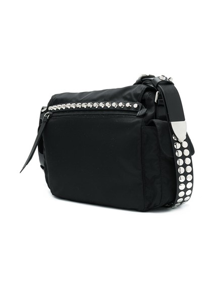 PRADA STUDDED SHOULDER BAG