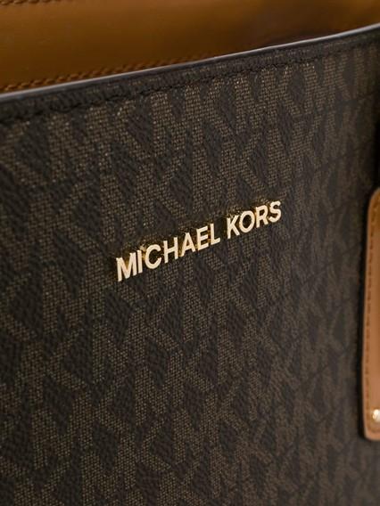 MICHAEL KORS MK LOGO TOTE BAG