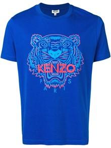 KENZO T-SHIRT BICOLOR TIGRE