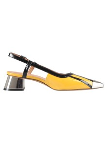 MARNI MIDDLE HEELED PUMPS