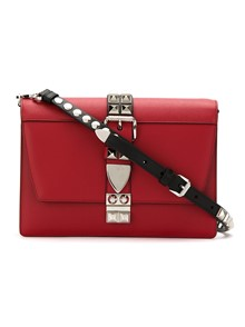 PRADA STUDDED CROSS BODY BAG