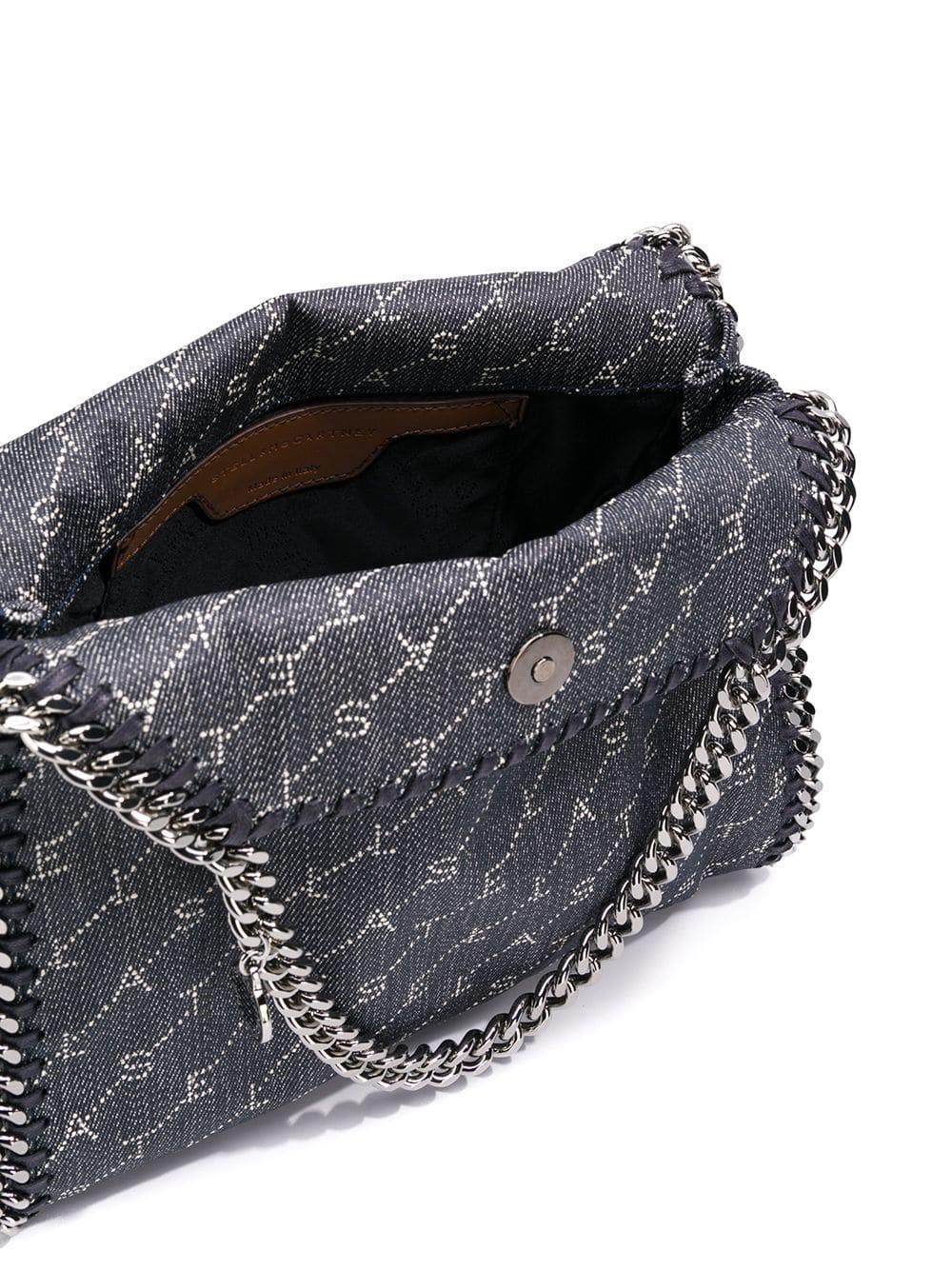 stella mccartney borsa falabella stampa logo su
