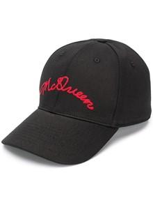 ALEXANDER MCQUEEN  LOGO BASEBALL CAP