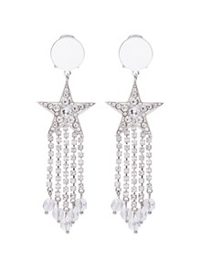 MIU MIU STAR EARRINGS