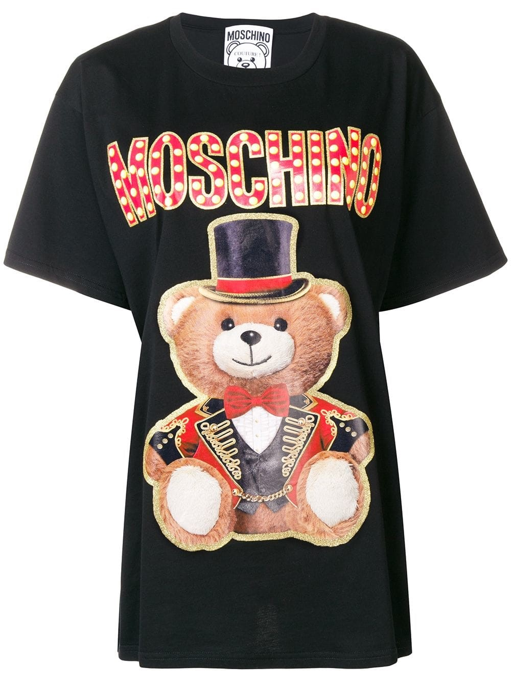 6be1b154 moschino CIRCUS PRINT T-SHIRT available on montiboutique.com - 26290