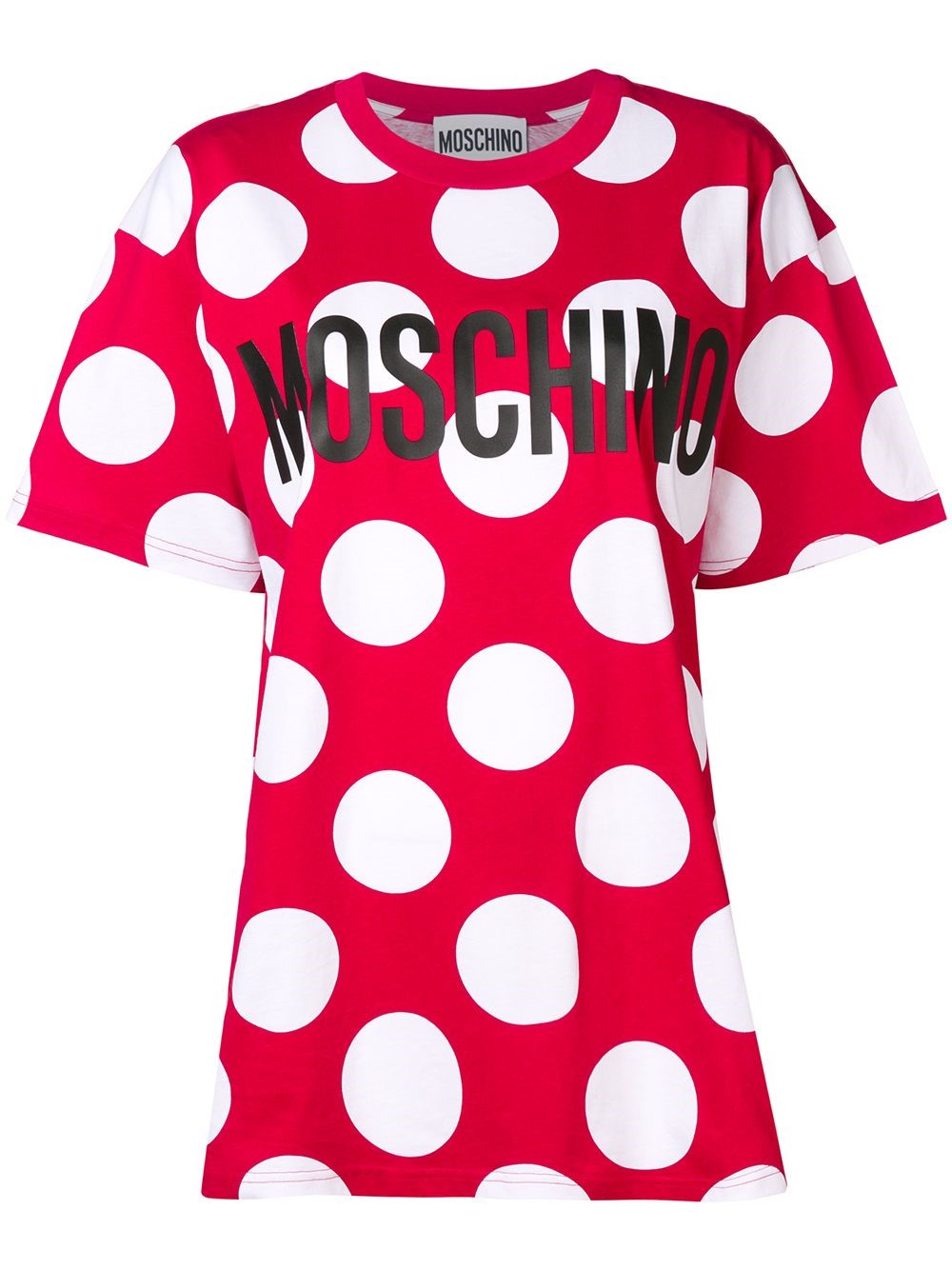 a7db8bd9 moschino POIS PRINTED LOGO T-SHIRT available on montiboutique.com ...