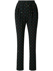 STELLA MCCARTNEY LOGO PRINT TROUSERS