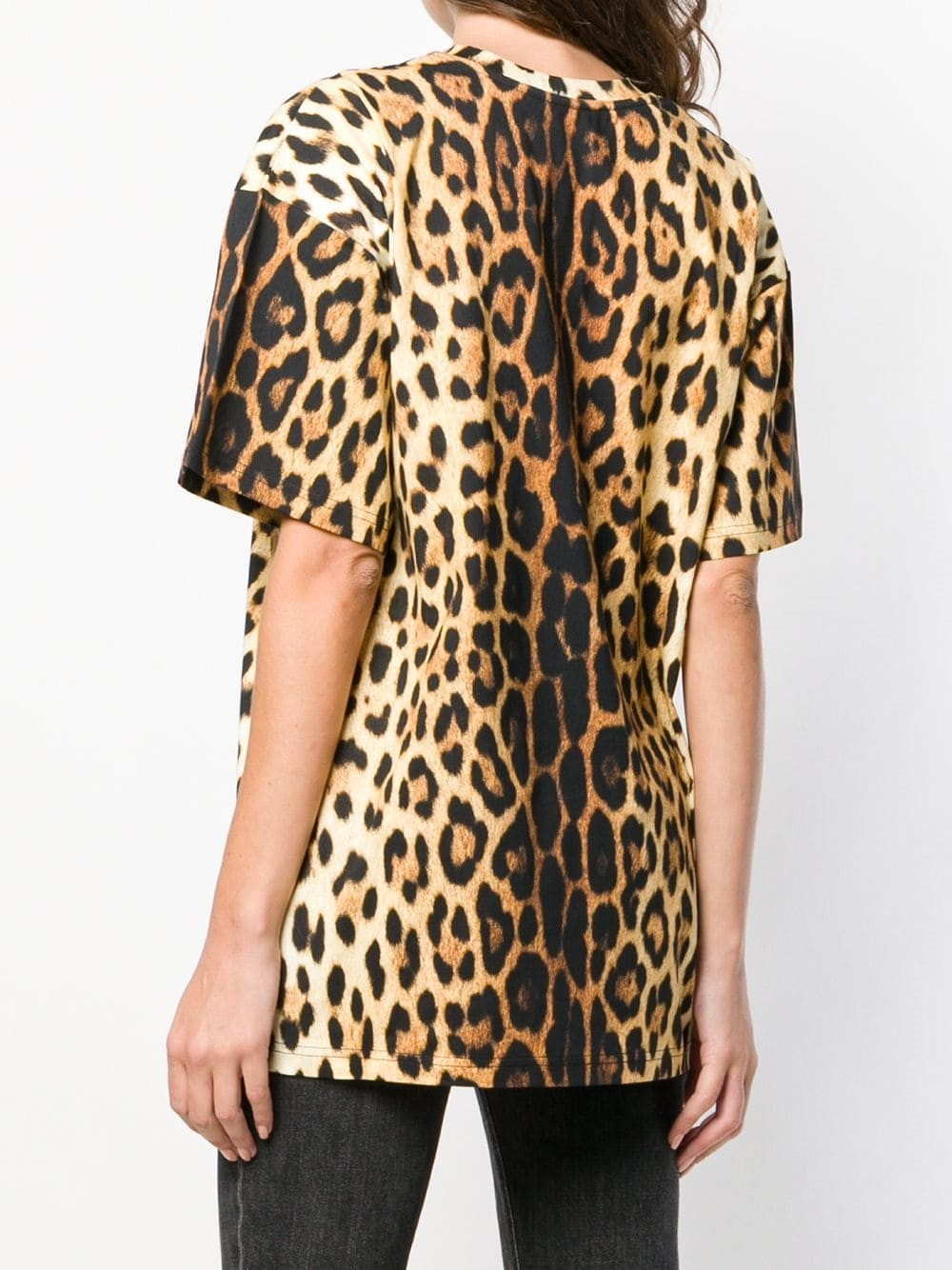 efdf700db78c2c moschino LEOPARD PRINT T-SHIRT available on montiboutique.com - 26401