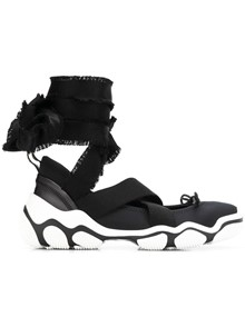 RED VALENTINO GLADIATOR STYLE SNEAKERS