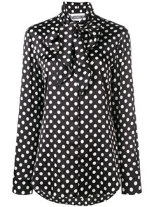 MOSCHINO DOT PRINT BLOUSE