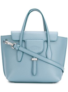TOD'S DOUBLE T LOGO TOTE BAG