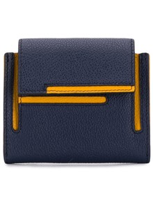 TOD'S DOUBLE T LOGO WALLET