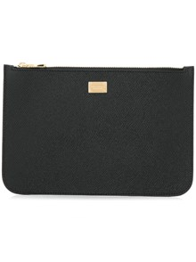 DOLCE & GABBANA LOGO CLUTCH BAG
