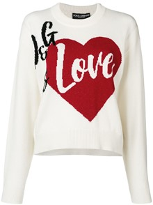 DOLCE & GABBANA D&G IS LOVE PULLOVER