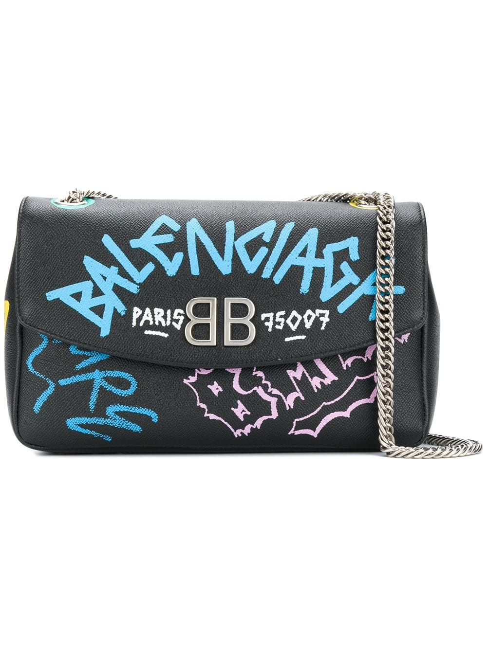 755db1f92b balenciaga GRAFFITI SHOULDER BAG available on montiboutique.com - 26697