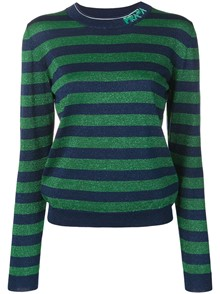 PRADA STRIPED PULLOVER