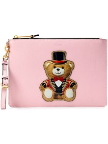 MOSCHINO CIRCUS CLUTCH BAG