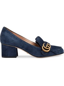 GUCCI MIDDLE HEELED LOAFERS