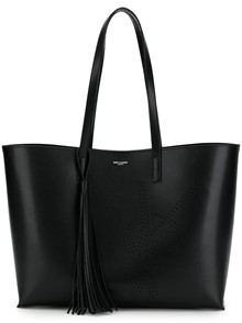 SAINT LAURENT LOGO SHOPPING TOTE