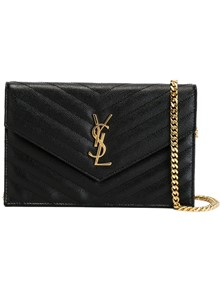 SAINT LAURENT LOGO WALLET